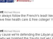 """Twitter, Michael Moore: """"Vamos seguir bombardeando países hasta hagamos bien"""""""