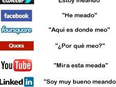 Diferencias prácticas entre redes sociales