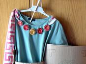 Disfraz material reciclado