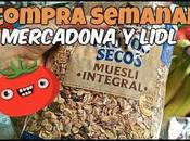 compra semanal MERCADONA LIDL enseño muesli buenos ingredientes
