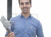 español diseña brazos protésicos impresora para personas recursos Kenia