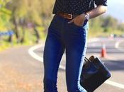 Flare midi jeans