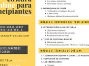¡Nueva edición curso online costura para principiantes!