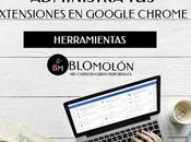 Administra Extensiones Google Chrome