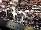 chocolates mercado Boqueria Barcelona