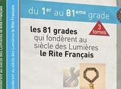 grados Rito Francés, editados Gran Oriente Francia.