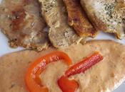 Lomo salsa pimientos
