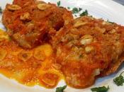 Bacalao llauna salsa tomate