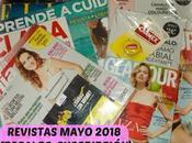 Revistas Mayo 2018 (Regalos, suscripciones viene)