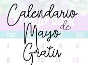 Calendario Mayo gratis