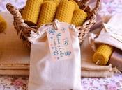 Velas miel jabones naturales; detalles personalizados para bodas.