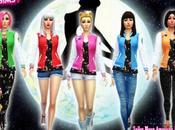 Chaquetas Americanas Sailor Moon para Sims