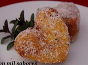 """Delicias """"poleá"""" corazón fresas"""