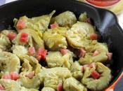 receta sencilla alcachofas guisadas jamón