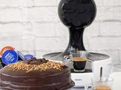Pastel chocolate café. Vídeo receta