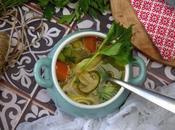 Sopa pollo anti-gripe: adiós catarros refriados