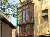 balcones cubiertos Toledo. España