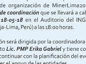 IAPG PERU CONVOCATORIA: reunión Mayo comité MinerLima2018