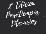 Noticias sobre Edición Pasatiempos Literarios otras cosas