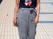 Outfit tendencia cuadros vichy