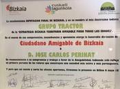 José Carlos Perinat nombrado Ciudadano Amigable Bizkai...