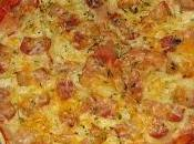 Pizza hojaldre bacon cebolla