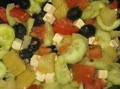 Ensalada griega patatas