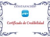 Certificados credibilidad