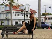 Vestido negro corto Puerto Plata