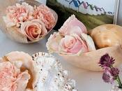 Decorar flores caracolas