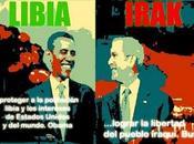 "mentiras ""hechos"" entre Irak Libia"