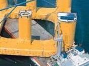 Buques semi-sumergibles: titanes mar. fotografías)