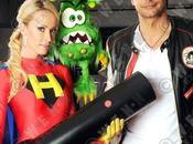 Superheroína alemana Versus Herpes Labial