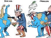 Diferencia entre Bush Obama