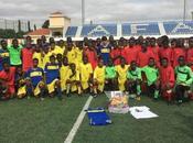 Homenaje Daniel Cabanelas nuestra Escuela Fútbol Base Angola