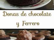 Donas chocolate Ferrero