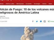 volcanes peligrosos américa latina (bbc mundo)