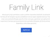 Family Link: gestión Android para familias