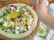 Prepara esta deliciosa ensalada facil practica pavo, manzana queso fresco