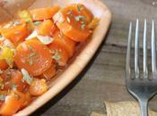 Zanahorias aliñadas vinagre jerez