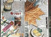 Libretas agendas creativas personas gusta dibujar inspirarán
