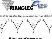 Triangles ¿Qué número debe tener último triángulo?
