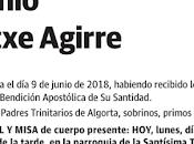 ANTONIO ARTETXE AGIRRE, Padre Trinitario QEPD