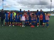 Escuela Fútbol Base Angola Semis como primer clasificado