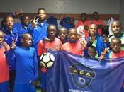 Victorias Escuela Fútbol Base Angola frente Celta Vigo Luis calvo