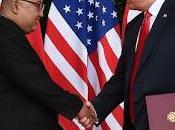 Histórico encuentro. Donald Trump conoce Jung-un