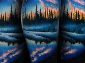 Tatuajes paisajes dejarán aliento Parte
