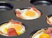Canastilla hojaldre huevos