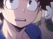 Momento épico entre Might Izuku Boku Hero capitulo