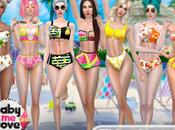 GML's Summer fruits swimsuits (Sims